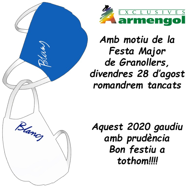 Tancat Festa Major 2020